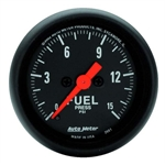 Auto Meter 2661 Z-Series Digital Stepper Motor Fuel Pressure Gauge