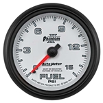 Auto Meter 7811 Phantom II Mechanical Fuel Pressure Gauge, 2-5/8 Inch