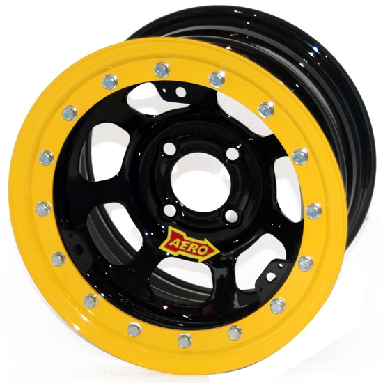 Aero 33-174030 33 Series 13x7 Inch Wheel, Lite, 4 on 4 BP, 3 Inch BS