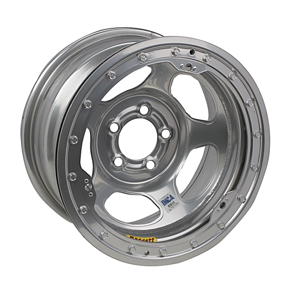 Bassett Inertia Advantage 15 Inch Wheel, 15x8, 5 on 5, Beadlock