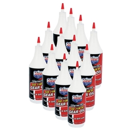 Lucas Oil 10047 SAE 75W-90 Synthetic Racing Gear Oil, Case