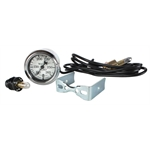 Stewart Warner 82479-72 Wings Mechanical Water Temp Gauge, White