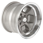 Team III ET Five-Window 15 Inch Wheel, 15x10, 5 on 4.5, 4 In. Backspace
