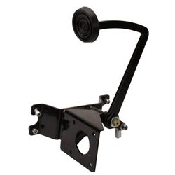 Black Universal Brake Pedal Bracket