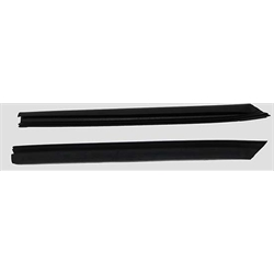 SoffSeal 4033 Rear Quarter Window Glass Vertical Seals, 1966-67 Nova