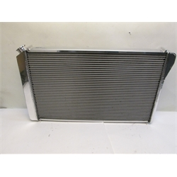 Garage Sale - AFCO Direct Fit 1982-92 Camaro Polished Aluminum Radiator, Without Trans Cooler