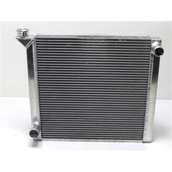 Garage Sale-AFCO 80100LWFN Single Row Radiator, 22-7/8 In Wide Ford Inlet/Outlet
