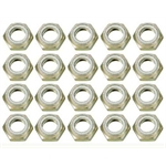 Garage Sale - Speed Fast Aluminum Nylock Half Nuts - Pack of 20