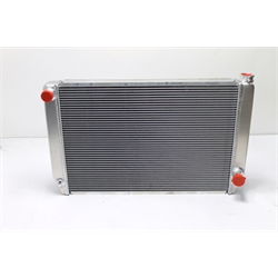 Garage Sale - Griffin Aluminum Racing Radiator, Double Row Core, 31 Inch
