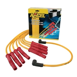 Accel 8025 8.8 Universal Solid Core Spark Plug Wire Set, Straight Boot