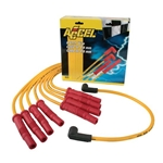 Accel 8025 8.8 Universal Solid Core Spark Plug Wires Set, Straight Boot
