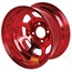 Aero 30-974510RED 30 Series 13x7 Inch Wheel, 4 on 4-1/2 BP, 1 Inch BS
