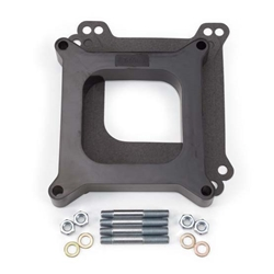 Edelbrock 8710 4- Barrel Carburetor Spacer, Phenolic, 1 Inch