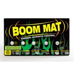 DEi 050206 Boom Mat Damping Material, 12-1/2 x 24 Inch, 6 Sheets
