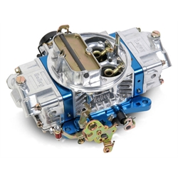 Holley 0-76750BL 650 CFM Ultra Double Pumper Carburetor, Blue