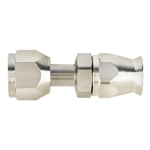 Straight Nickel Plated AC Fitting, O-Ring Pilot, -8 AN