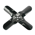 Steel Four Blade Racing Fan, 17 Inch