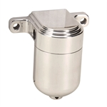 OTB Gear 6505 Smooth Fuel Filter, Satin, Right-to-Left Fuel Flow