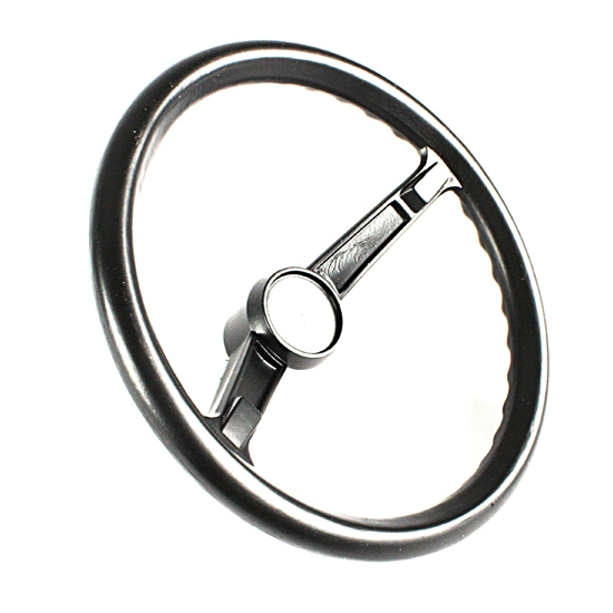 Plastic Steering Wheel : Pedal car parts amf black plastic steering wheel ebay