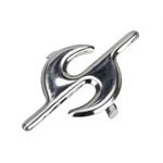 Pedal Car Parts, AMF/BMC Car Chrome S Hood Ornament