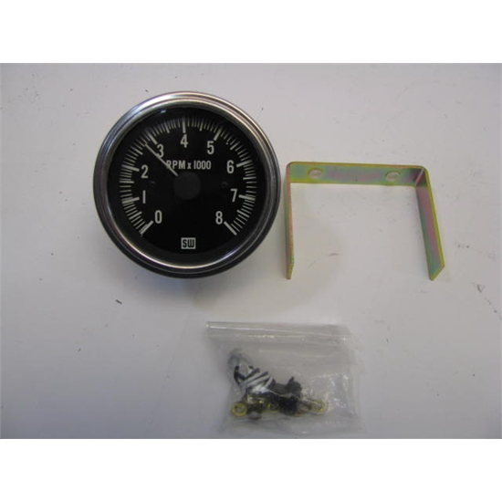 Garage sale stewart warner deluxe electric tach free for Tachometer for electric motor
