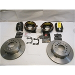 Garage Sale - Wilwood Rear Disc Parking Brake Kit, Ford 9 Inch, 2.66 Offset