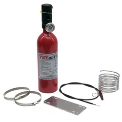 Garage Sale - Fire Bottle RC-250 Sprint Car Fire Suppression System, 2.5 Lbs.