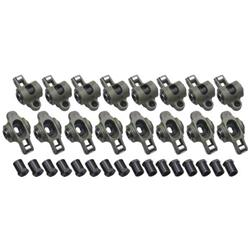 Crower Stainless Roller Rocker Arms, Small Block Chevy, 1.5:1