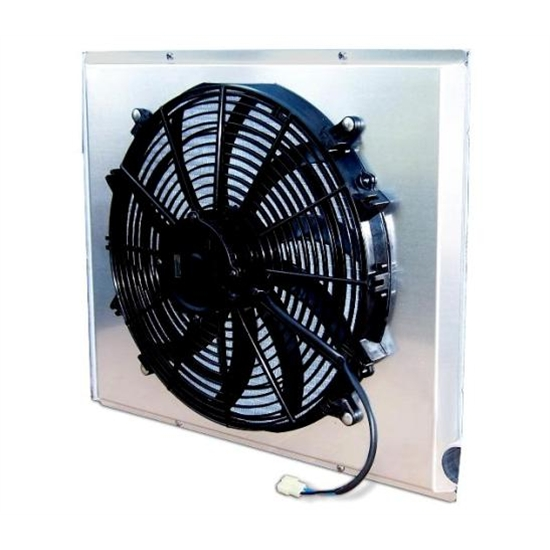 AFCO 80404FAN 2170 CFM Fan/Shroud Assembly for Ford/Mopar Radiators