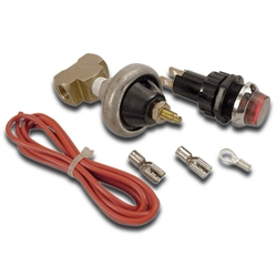 AFCO 85190 Warning Light Kit, Oil Pressure
