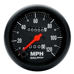 Auto Meter 2692 Z-Series Mechanical Speedometer, 120 MPH, 3-3/8 Inch