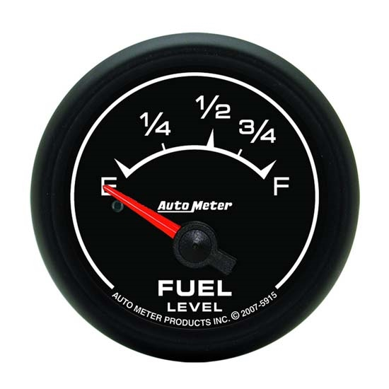 Auto Meter 5915 ES Air-Core Fuel Level Gauge, 2-1/16 Inch