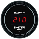 Auto Meter 6337 Sport-Comp Digital Digital Water Temperature Gauge