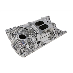 Edelbrock 27164 Performer EPS Vortec Chevy Intake Manifold-Endurashine