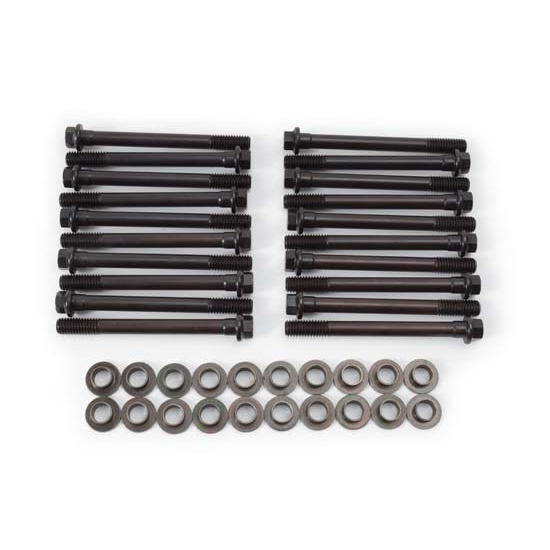 Cylinder Head Bolts Set: Edelbrock 8562 Cylinder Head Bolt Set, Ford 302 E-Boss