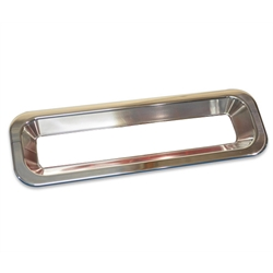 Eddie Motorsports MS275-40P Polished Tail Light Bezel, 1967-68 Camaro