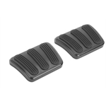 Lokar XBAG-6110 Midnight Series 58/62 Corvette Brake/Clutch Pedal Pads