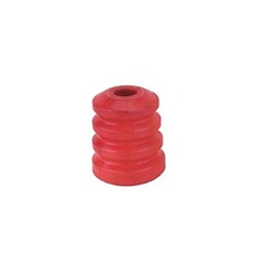 Speedway Shock Bump Rubber, Red, Soft