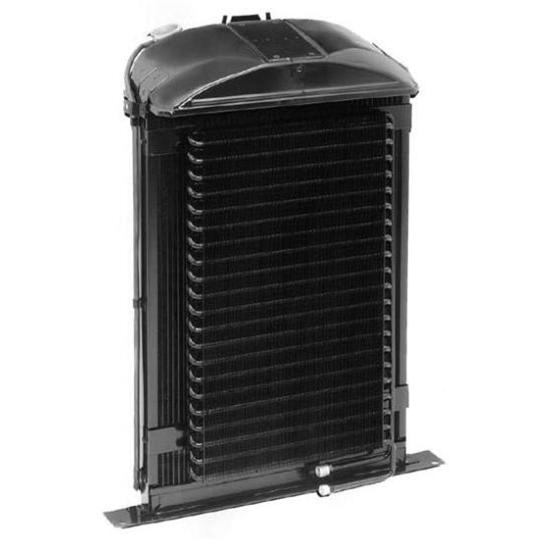 Walker C-AC494-1 Cobra 1936 Ford Radiator w/ AC Condenser-Chevy Engine