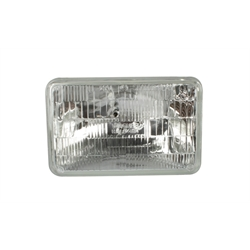 Rectangular Headlight Bulb, 12 Volt High/Low, Halogen