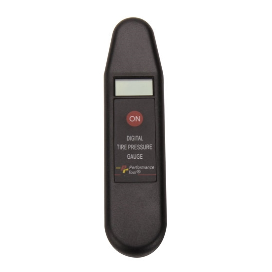 Performance Tool W9107 Digital Tire Pressure Gauge