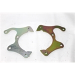 Garage Sale - Disc Brake Caliper Brackets, 1969-77 GM Caliper, Stock Ford Spindle, 5on4-3/4