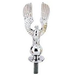 Pedal Car Chrome Eagle Hood Ornament