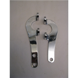 Garage Sale - Ford Flat Plate Steering Arms, Chrome