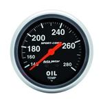 Auto Meter 3441 Sport-Comp Mechanical Oil Temperature Gauge, 2-5/8 In.