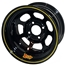 Aero 30-184020 30 Series 13x8 Inch Wheel, 4 on 4 BP, 2 Inch Backspace