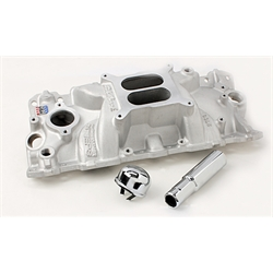Edelbrock 2703 Performer EPS Chevy Intake Manifold with Oil Fill