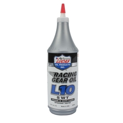 Lucas Oil 10460 L10 Racing Gear Oil, Case