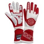 Garage Sale - Sparco Gloves - Tornado - 8 X-Small - Red/White
