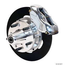 Wilwood 140-1501-P FDL Front Drag Brake Kit, 1937-48 Ford Car,Polished